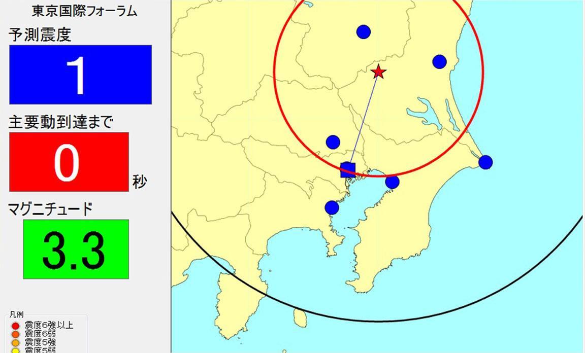 緊急地震速報受信システム